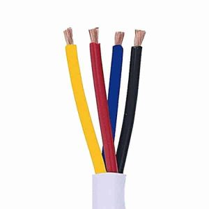 4 Conductor14 AWG Cl2 Rated Loudspeaker Wire 250ft For In Wall Use
