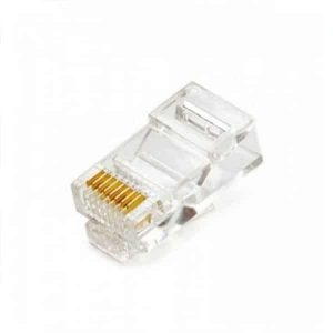 Cat5e & Cat6 Rj45 Crimp Connectors