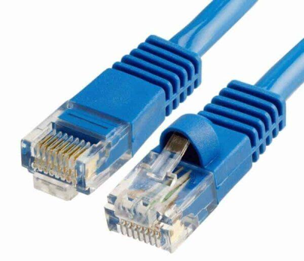 cat5e patch cable blue color