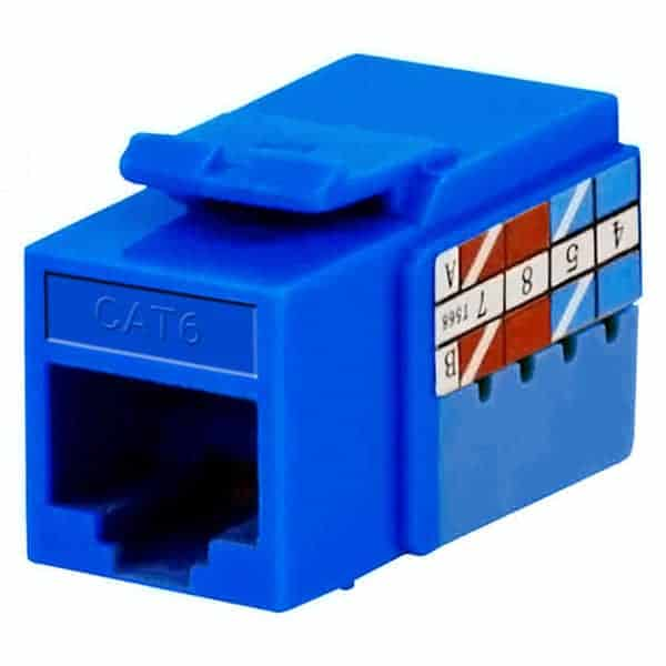 Cat6 Keystone Jacks Toolless