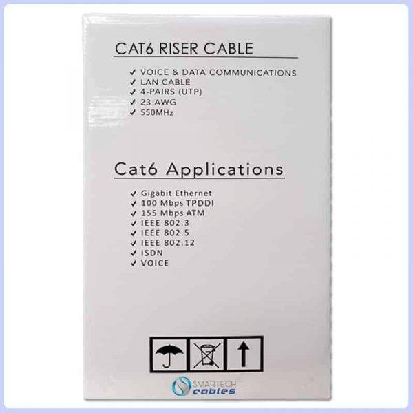 cat6 riser, cat6 riser cable, 1000ft cat6 riser