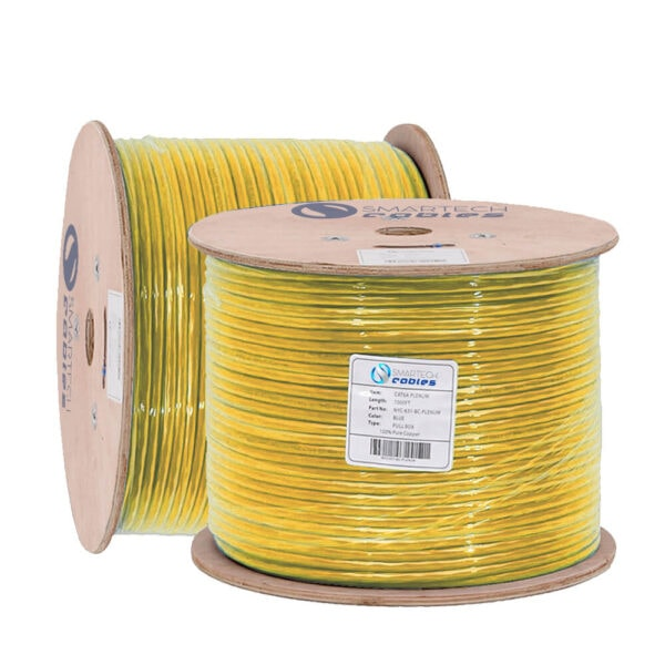1000ft cat6a bulk plenum cable