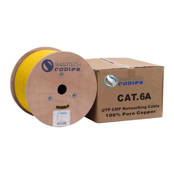 1000ft cat6a bulk plenum