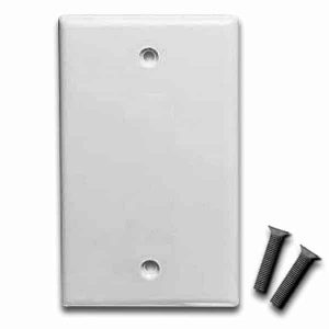 Blank Face Plate for Keystone Jacks