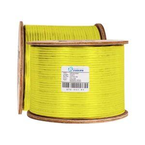 cat6a cable, cat6a bulk, bulk cat6a cmr, cat6a riser cable yellow