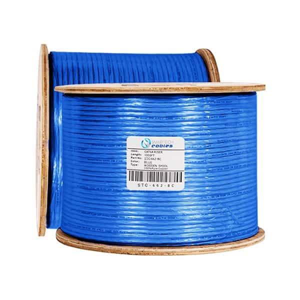 cat6 riser, cat6a riser cable, cat6a riser 1000ft, cat6a riser cable 1000ft, cat6 riser blue